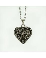 Corazón de Plata Filigrana