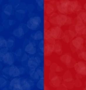 Azul con Rojo