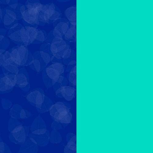Azul con Aqua